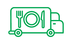 Food truck (green icon)